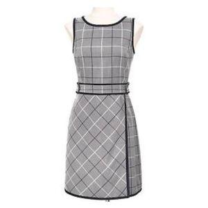 Tommy Hilfiger plaid sheath dress